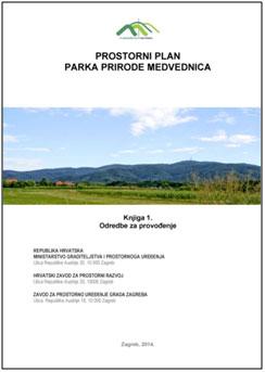 Prostorni plan Parka prirode Medvednica