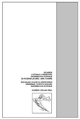 Izvješće o stanju u prostoru 2002. – 2004.