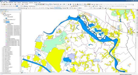 Obrada podataka za Državni plan prostornog razvoja