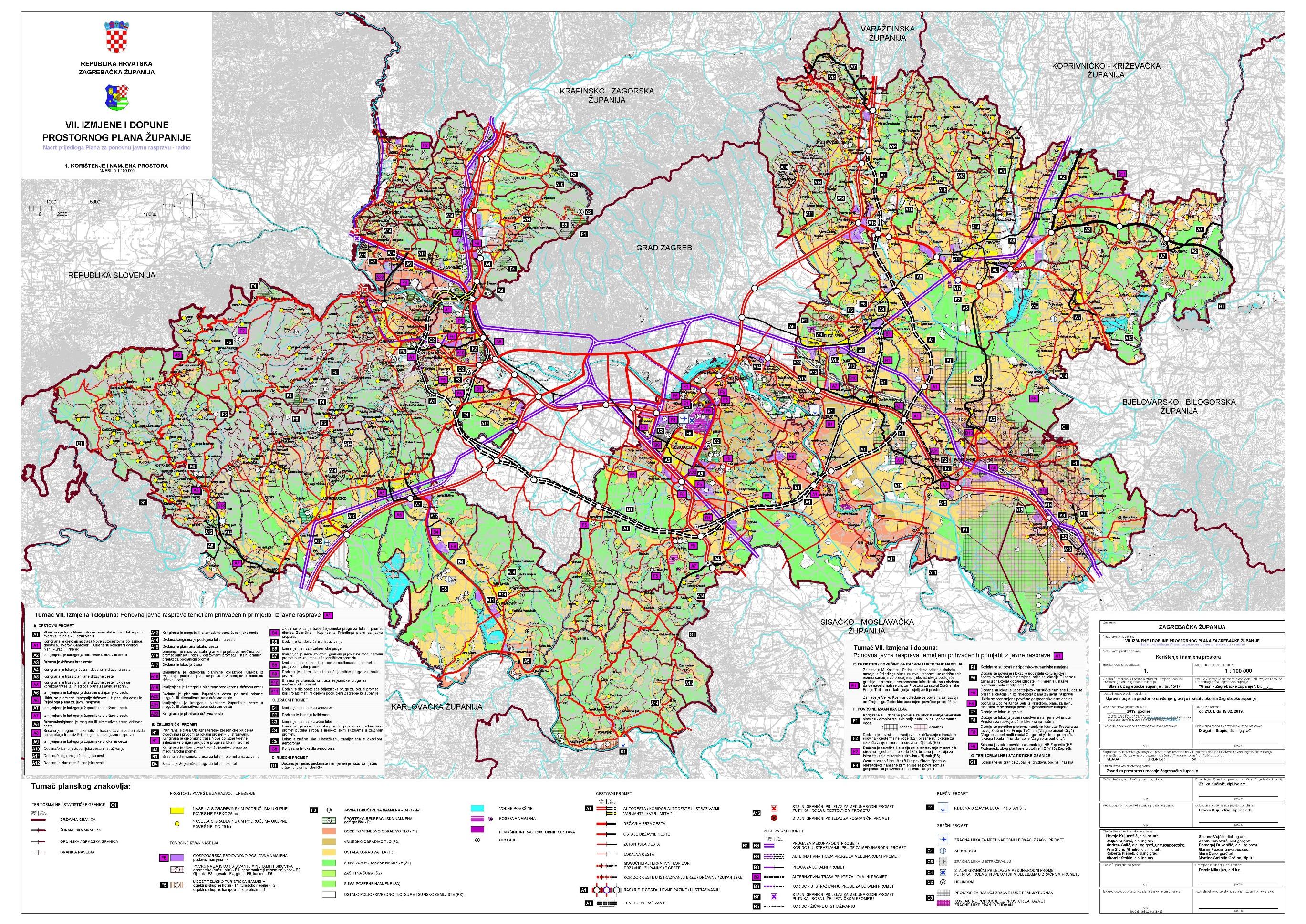 Dovršena Strateška studija o utjecaju VII. Izmjena Prostornog plana Županije za povjerenstvo i ugrađene mjere u Prostorni plan