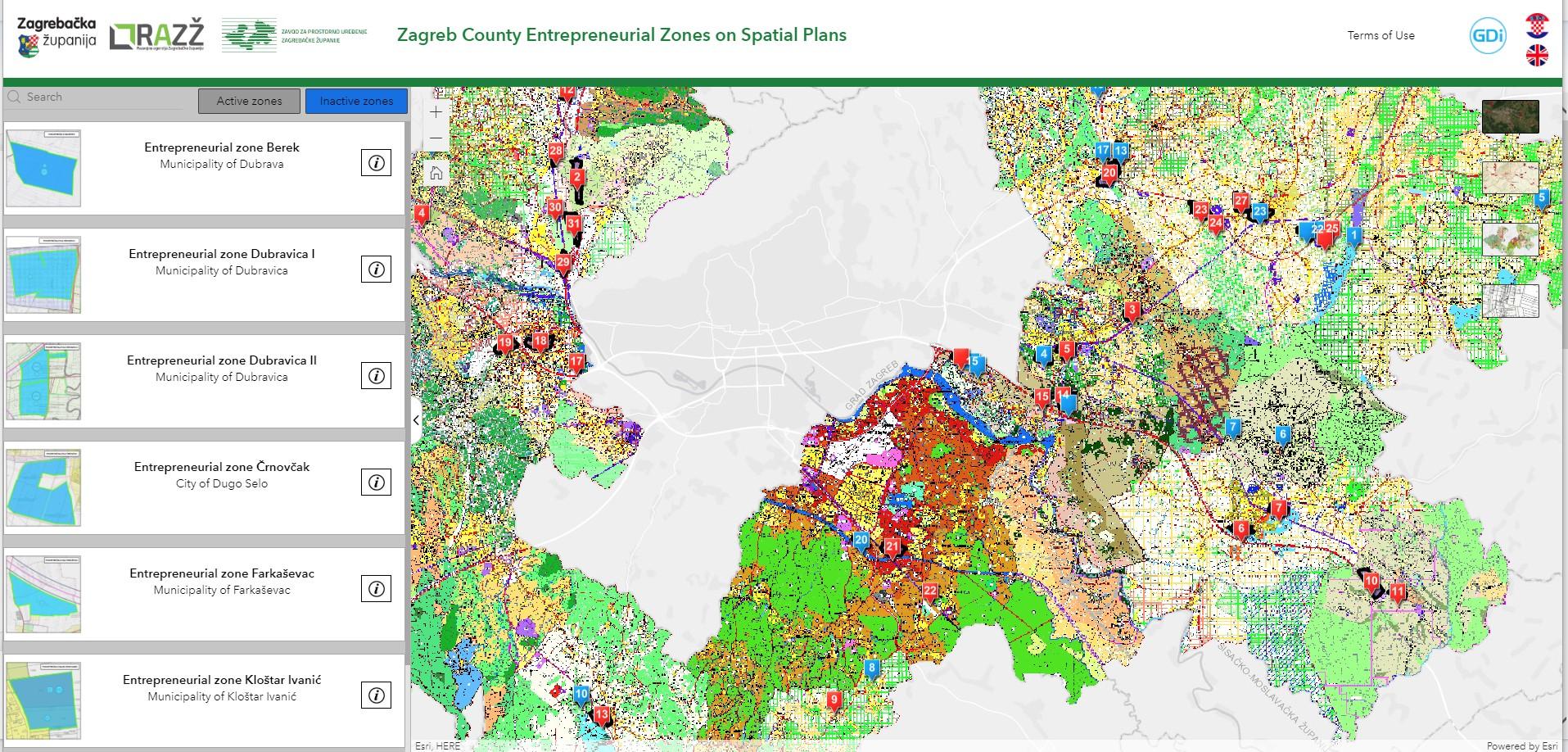 Objavljena nova aplikacija Poduzetničkih zona Zagrebačke županije na hrvatskom i engleskom jeziku 1