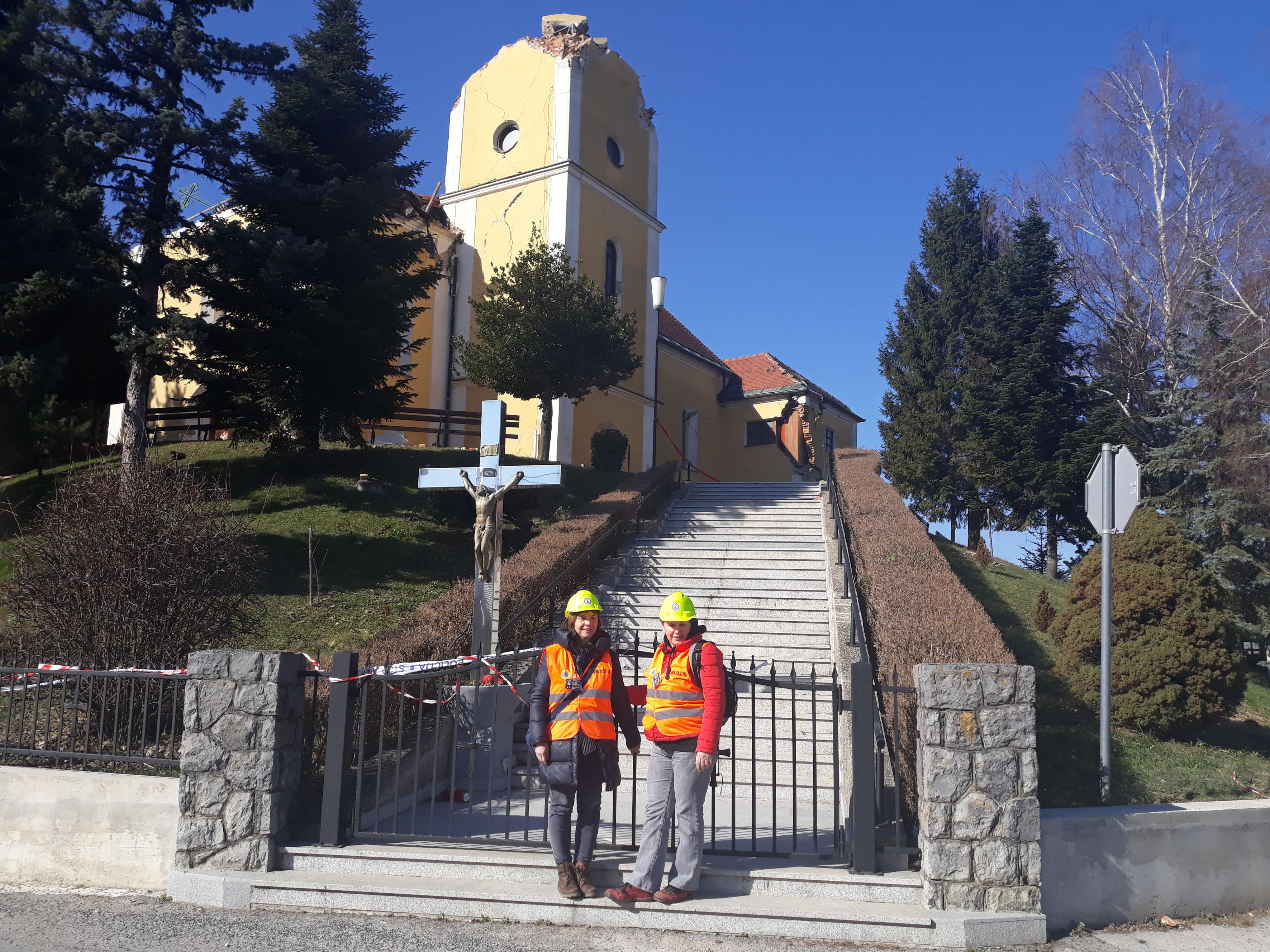 Zavod sudjeluje u pregledu potresom oštećenih zgrada 3