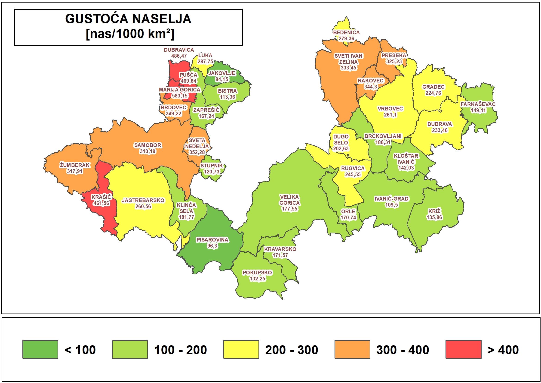 Usvojeno Izvješće o stanju u prostoru Zagrebačke županije za razdoblje 2016. – 2020. godine 2
