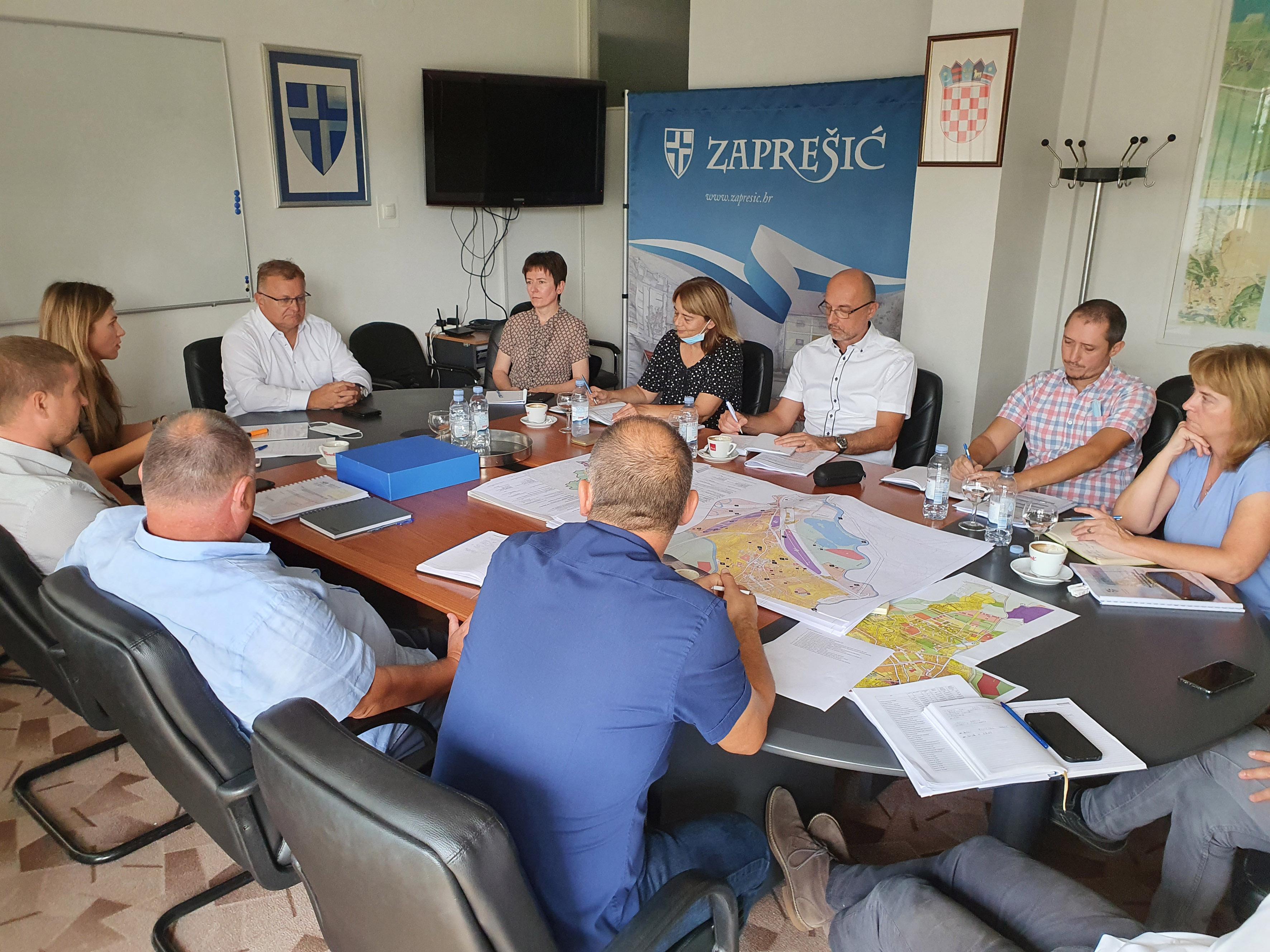Predstavnicima Grada Zaprešića predstavljeni nacrti prostornih planova - slika 1