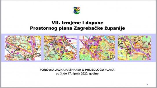 Objavljena ponovna javna rasprava o Prijedlogu VII. Izmjena i dopuna Prostornog plana Županije