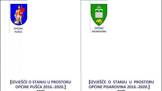 Započela izrada Izvješća o stanju u prostoru za općine Pušća i Pisarovina