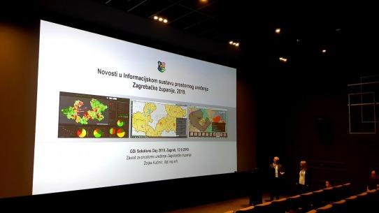 Zavod predstavio novosti u Informacijskom sustavu prostornog uređenja Zagrebačke županije na GDi Solutions Day